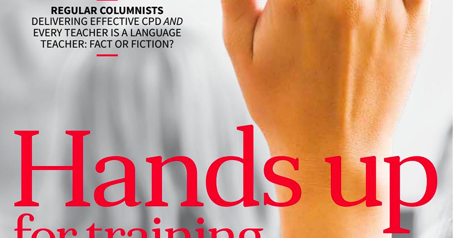 EAL Journal 10 - Hands up for training cover training