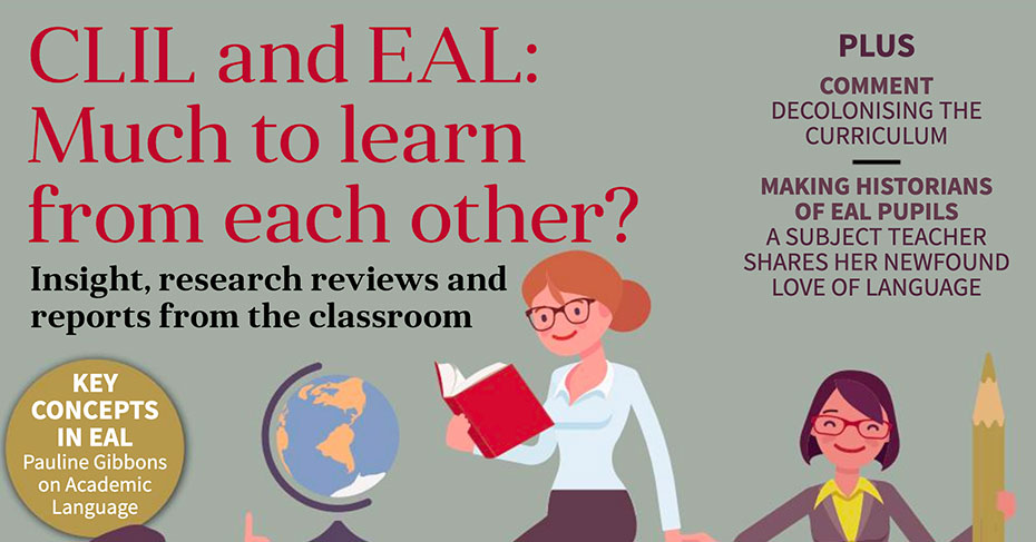EAL Journal 6 - CLIL and EAL: Much to learn from each other cover image