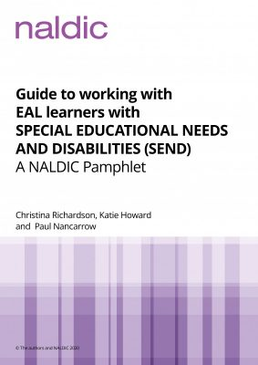 NALDIC EAL and SEND pamphlet 2020 cover
