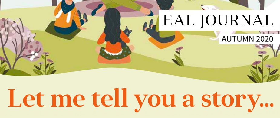 EAL Journal 13 – Let me tell you a story... cover sample