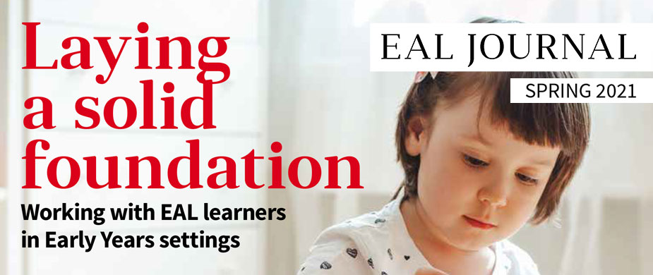 Image of EAL Journal Issue 14 – Laying a solid foundation: Working with EAL Learners in Early Years settings