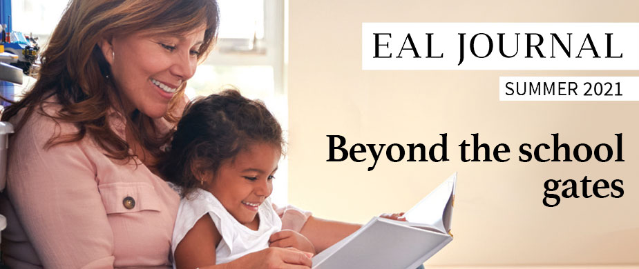 Featured slide for the Summer 2021 EAL Journal – Beyond the school gates